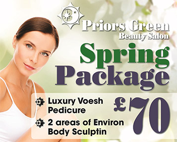 spring beauty offer 2019 priors green